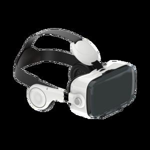 Casque VR avec écouteurs intégrés Blanc