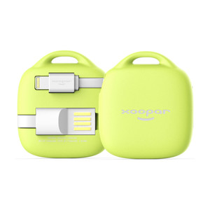 Batterie de secours MFI Hug Booster 500mAh Lime