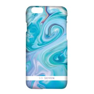 Coque Carrare pour iPhone 7 Bleu