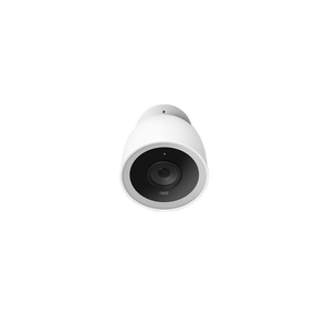 Cam IQ outdoor security camera Blanc