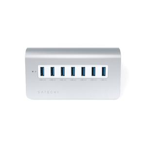 Hub USB 7 ports Gris