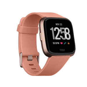 Smartwatch Versa rose-gold- pêche