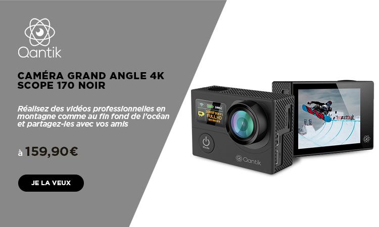 mobile caméra qantic