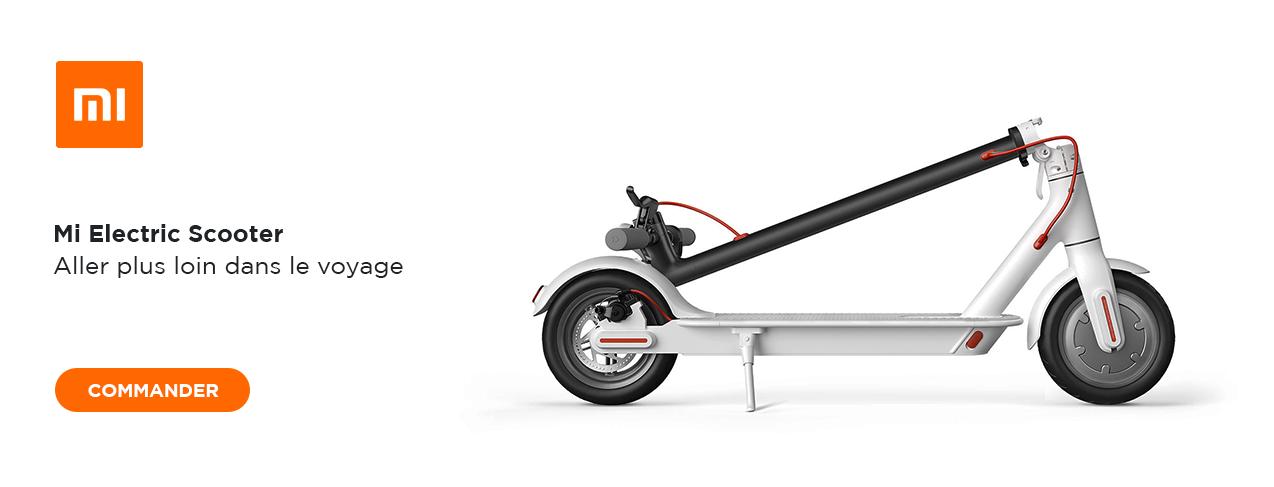 grande image XIAOMI MI Electric Scooter
