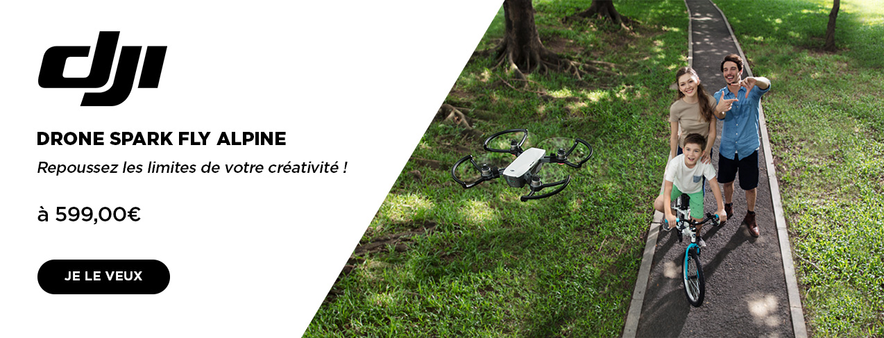 grande image Drone Spark Alpine Blanc
