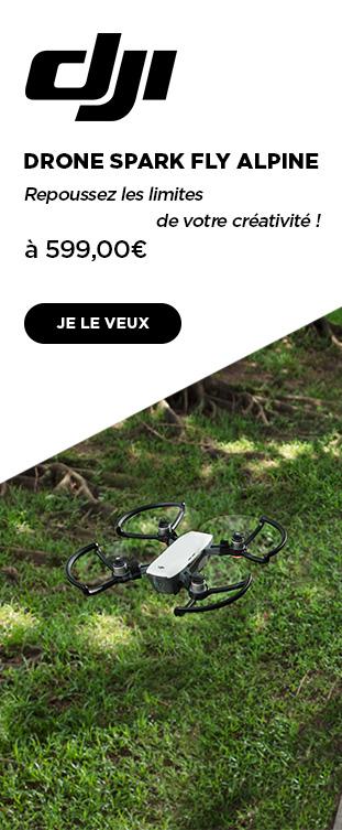 Drone Spark Alpine Blanc