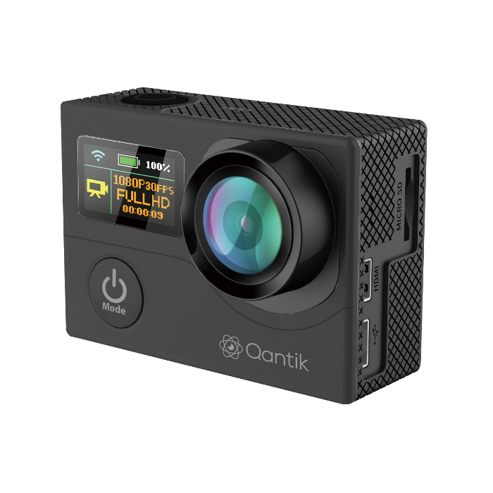 Caméra grand angle 4K Scope 170 Noir