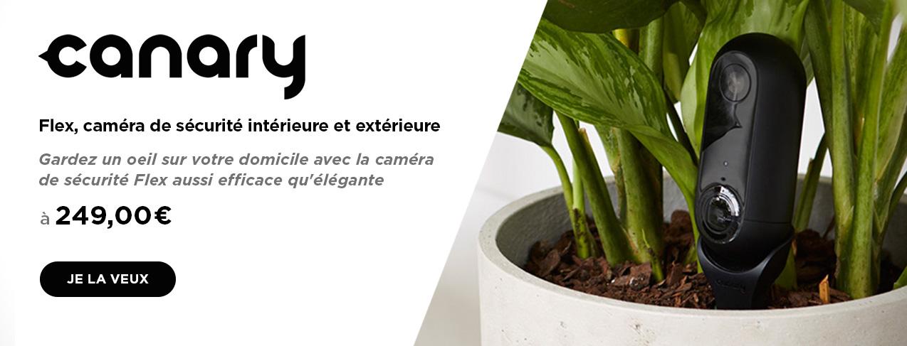 grande image Flex caméra de sécurité HD extérieure extérieure