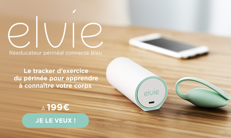 mobile Réeducateur périnéal connecté Bleu