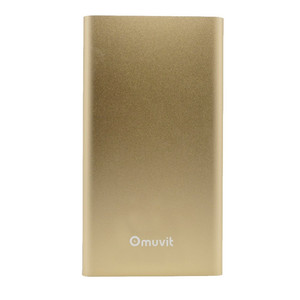Batterie de secours 5000 mAh finition Metal Or