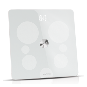 Balance connectée MyScale XL jusqu'à 200 Kg Blanc