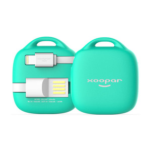 Batterie de secours MFI Hug Booster 500mAh Mint