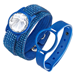 Bijou bracelet d'activité Slake Activity Crystal Bleu