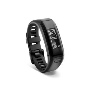 Bracelet d'activité avec fréquence cardiaque au poignet Vivosmart HR Noir