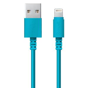 Câble avec connecteur lightning MFI 1M Bleu
