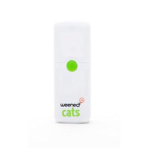Balise GPS pour chat Blanc