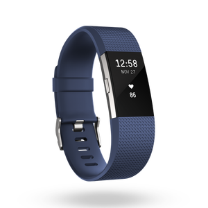 Charge 2 bracelet pour l'activité et le sport Bleu