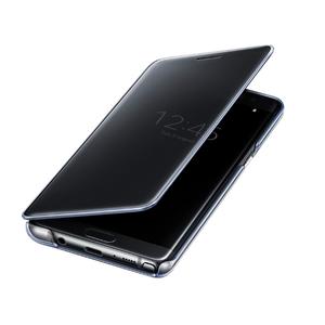 Etui Clear View pour Galaxy Note7 Noir