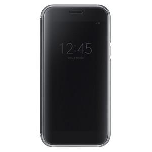 Etui clear view cover pour Galaxy A5 (2017) Noir