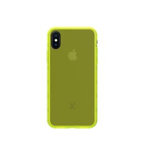 Coque Airshock pour  iPhone X Jaune