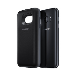 Coque batterie 2700 mAh charge induction pour Galaxy S7 Noir