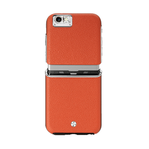 Coque Cuir Maestro pour Iphone 6/6S Orange