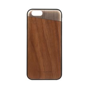 Coque métal + bois pour Iphone 6/6S Or