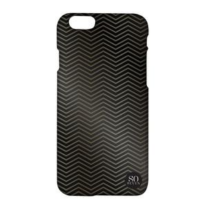Coque Midnight Chevron pour iPhone 6/6S Noir