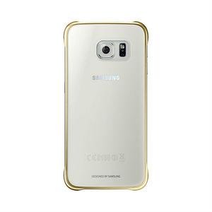 Coque transparente pour Galaxy S6 Or