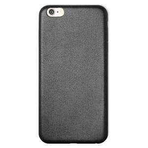 Coque Ultra slim simili cuir pour iPhone 6 Noir
