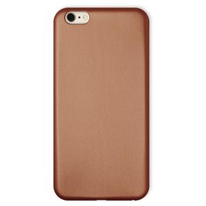 Coque Ultra slim simili cuir pour iPhone 6 Or