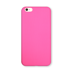 Coque Ultra slim simili cuir pour iPhone 6 Rose