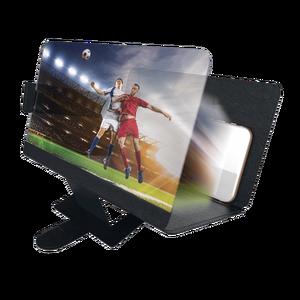 Agrandisseur d'écran pour smartphone et tablette Noir