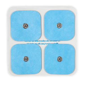 Pack 4 électrodes pour Electro-stimulateur connecté