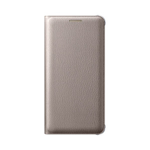Etui flip wallet pour Galaxy A310F 2016 Or