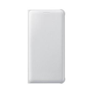 Etui flip wallet pour Galaxy A510F 2016 Blanc