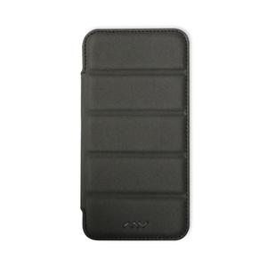 Etui folio ultra résistant anti choc pour iPhone 5 Noir