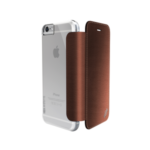 Etui folio Lux Engage pour Iphone 6+/6s+cuir Marron