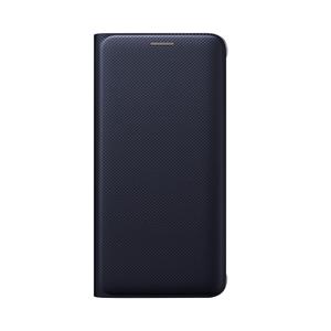Etui flip wallet pour Galaxy S6 Edge Plus Bleu