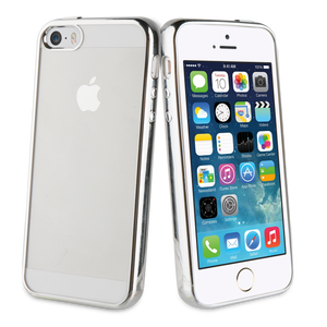 Coque Bling pour Iphone 5/5S/SE Gris