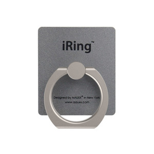iRing Premium anneau multifonction Gris sidéral