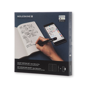 Smart Writing Set (carnet et stylo connecté Pen+) Noir