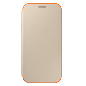 Etui flip cover pour Galaxy A5 (2017) Or