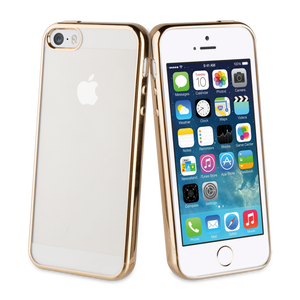 Coque Bling pour Iphone 5/5S/SE Or