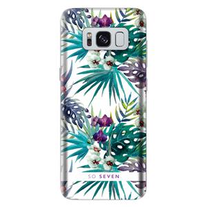 Coque Rio pour Galaxy S8 Motif Orchidée