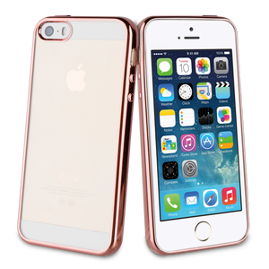 Coque Bling pour Iphone 5/5S/SE Rose or