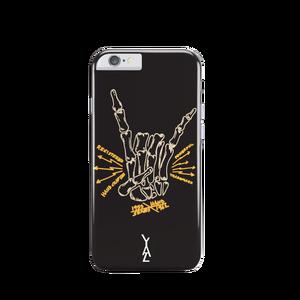 Coque Rock And Horns pour Iphone 6/6S Noir