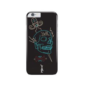 Coque Rock Wild Skull pour Iphone 6/6S Noir