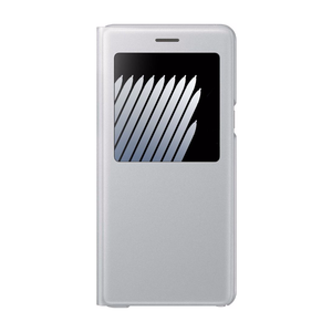 Etui S View Standing pour Galaxy Note7 Gris
