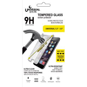 Protection en verre trempé universel pour écran 5,3''-5,5''